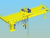 10 Ton Double Beam Overhead Crane