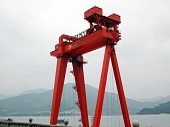 Double Track Gantry Crane