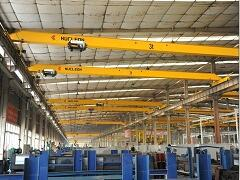 HD type single girder overhead crane