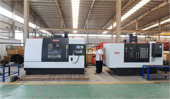 CNC three-dimensional machining center