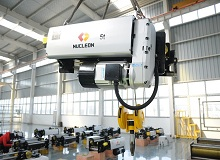European type electric hoist delivered to Brazil