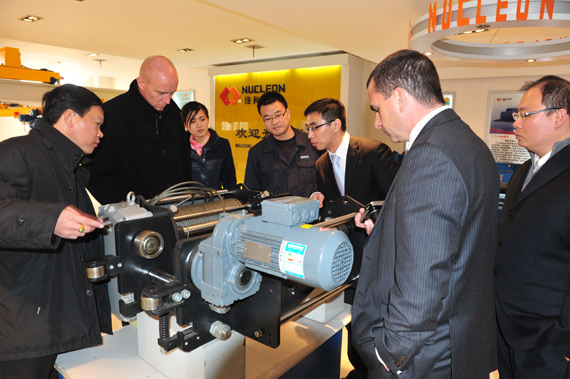 Technical communication with Demag company