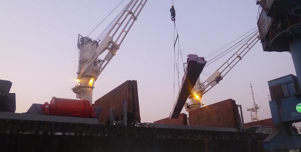 crane delivery to Australia