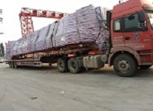 overhead crane delivery to Australia