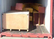 single girder gantry crane delivery to Saudi Arabia