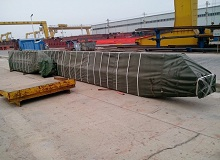 single girder overhead crane delivery to Indonesia