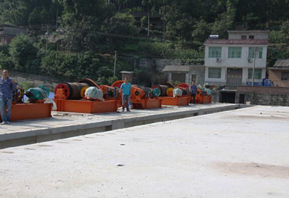 Hydropower Hoist