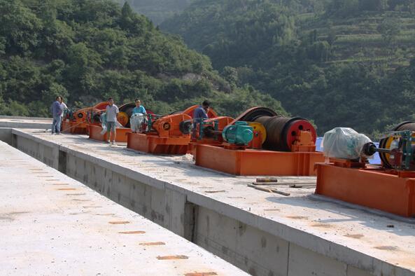 Hydropower Station Hoist