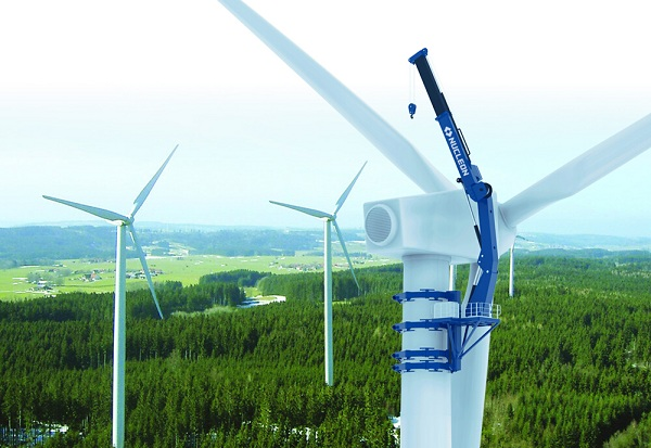Wind Power Generator Maintenance Crane
