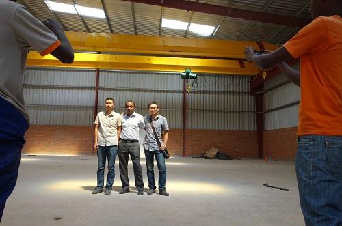 5-ton-single-girder-overhead-pendant-crane-install