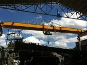 Single Beam Overhead EOT Crane