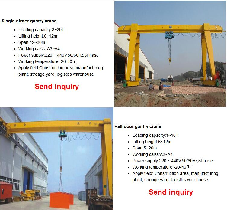 single-girder-workshop-gantry-crane