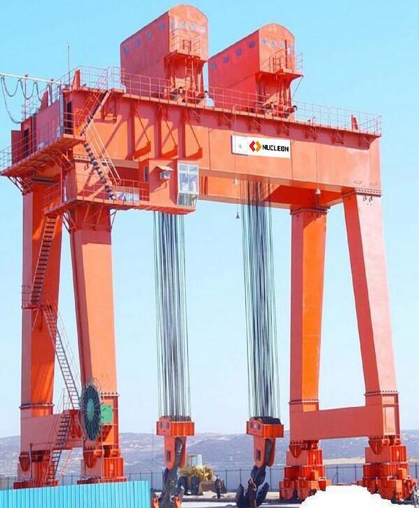 Gantry crane safe operation-nucleon crane group