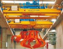 Single Girder Grab Bucket Crane