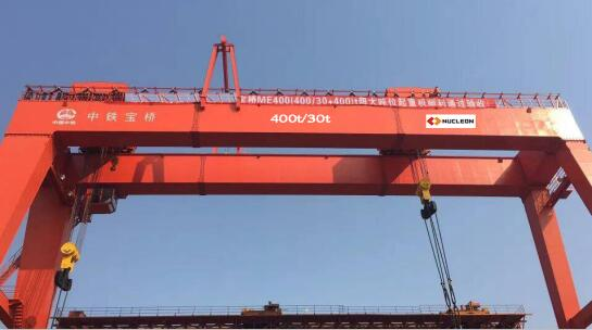 The installation of gantry crane