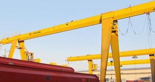 Single Beam Cantilever Gantry Crane