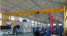 Single Beam Electric Hoist Gantry Crane