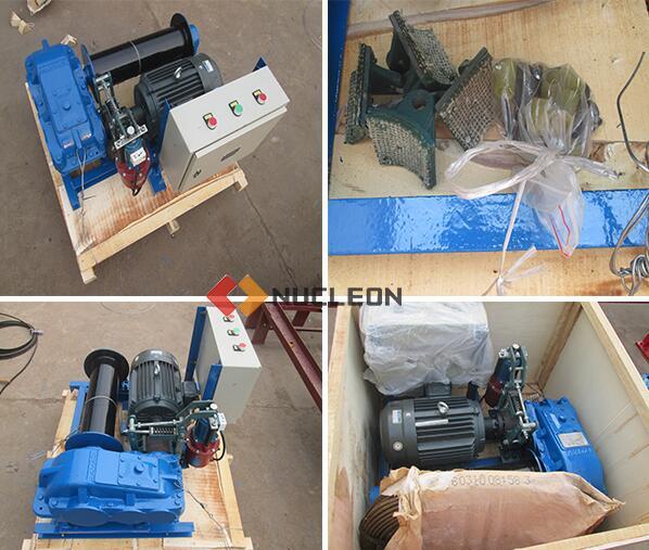 The Malaysia orders electric winch