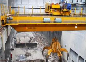 Double Girder Grab bridge crane