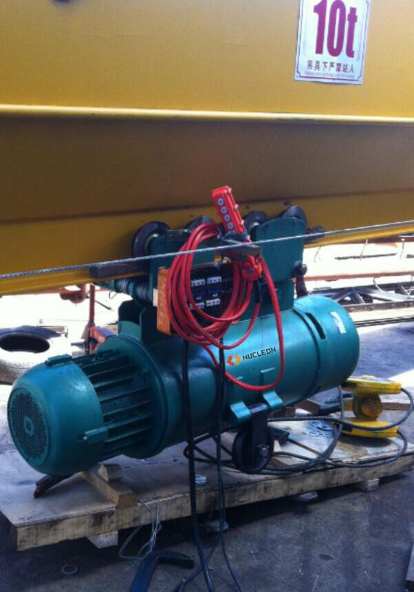 electric hoist control box
