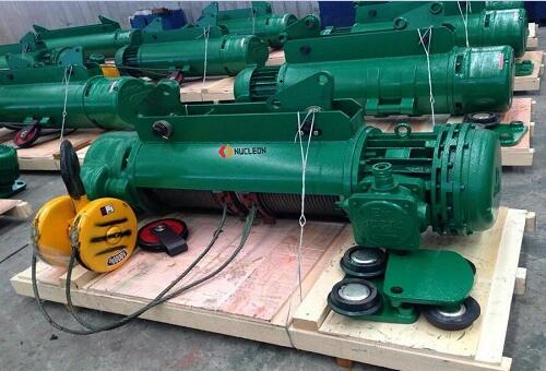 HB explosion-proof wire rope electric hoist