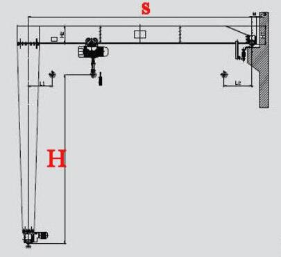 semi gantry crane plans