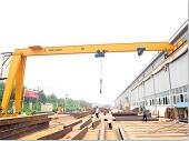 semi gantry crane