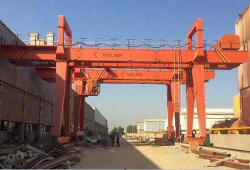 40 ton double girder gantry crane