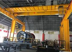 Electrcical Double Girder Bridge Crane