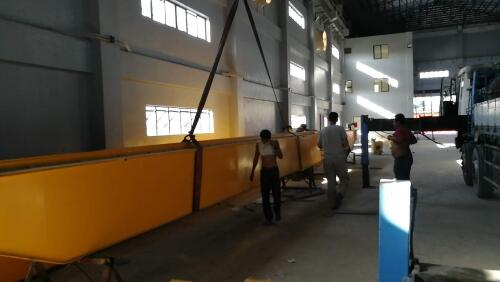 10 EOT Crane installation