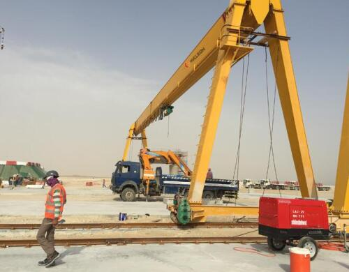 10 ton Rail Mounted Gantry crane