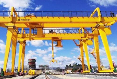 Heavy Industry Double Girder Gantry Crane