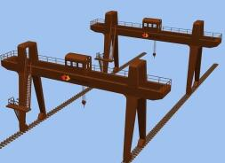Double Rail Gantry Crane