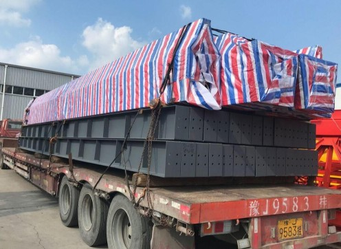 10 Double Girder Ton Overhead Crane Delivery To Tanzania