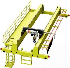 EOT Double Girder Overhead Bridge Crane Trolley With Hook