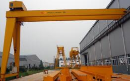 Customize Semi single girder Gantry Crane