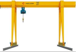 Single Beam Gantry Crane 10 Ton