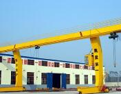 L type single beam gantry crane